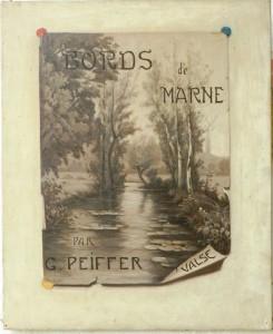 tableau d' Emile Humblot 1903